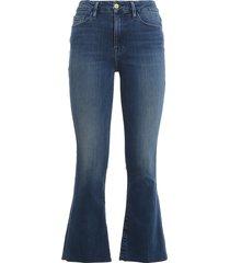 crop mini jeans