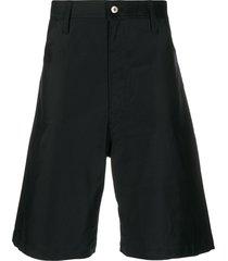 jil sander wide-leg bermuda shorts - blue