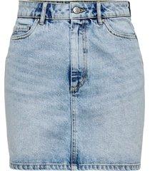 jeanskjol onlrose life ashape skirt bb