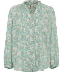 memorable blouse blouse lange mouwen groen odd molly