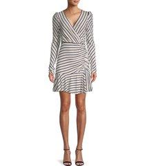 bailey 44 women's leonora striped dress - cream - size l