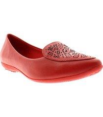 baletas para mujer marca bottero bottero - rojo