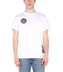 raf simons crew neck t-shirt