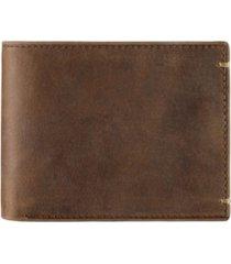 johnston & murphy men's flip billfold wallet