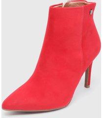 botín rojo vizzano