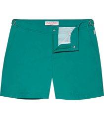 orlebar brown bulldog mid length swim shorts | emerald | 274370-bem