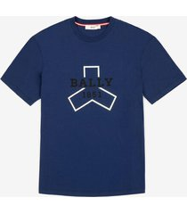 bally grip printed t-shirt blue xl