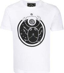 10 corso como cancer print t-shirt - white