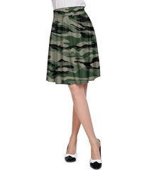 military camouflage a-line skirt
