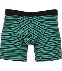 bóxer rayas unicolor color verde, talla s