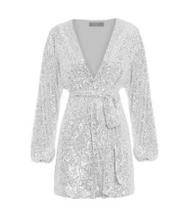 kimono nix - prata