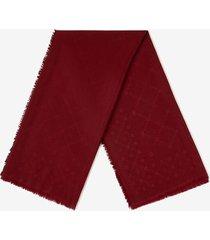 diamond b scarf burgundy 1