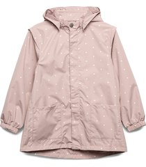 anitha jacket, m outerwear rainwear jackets rosa mini a ture