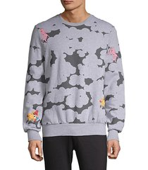abstract pink panther graphic sweatshirt