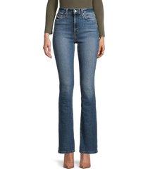 joe's jeans women's high-rise bootcut jeans - devon - size 24 (0)