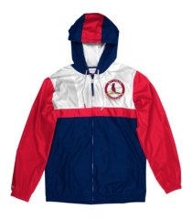 mitchell & ness st. louis cardinals men's victory windbreaker jacket