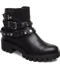 boots höga stövlar svart tamaris