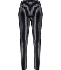pantalón estampado con cordón color negro, talla 12