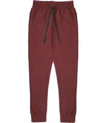 pantalón sudadera vinotinto colore