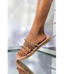 akira cape robbin new attitude flat sandal