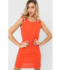 vestido naranja tarym