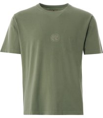 nigel cabourn logo tee   washed army   nclgte-arm