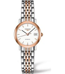 women's longines elegant automatic bracelet watch, 25.5mm