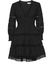 inez dress kort klänning svart by malina