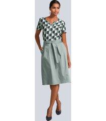 kjol alba moda salviagrön