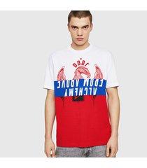 camiseta para hombre t-just-a1 diesel