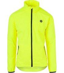 agu regenjas unisex go jacket neon yellow