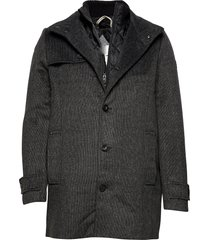 wool coat no wollen jas lange jas grijs tom tailor