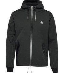full zip hooded ratner jacket tunn jacka svart original penguin