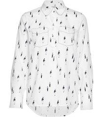 mathilde overhemd met lange mouwen wit baum und pferdgarten
