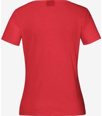 shirt model anni van bogner rood