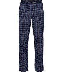 trousers pyjamas blå emporio armani