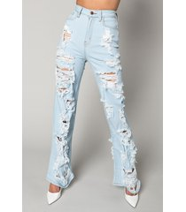 akira i am always here relaxed jeans