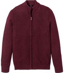 cardigan con taglio comfort (rosso) - bpc bonprix collection