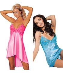 womens sexy lingerie nightgown robes sleepwear babydoll satin gown dress chemise