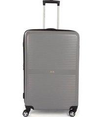 maleta de viaje mediana rígida con cuatro ruedas giratorias 94113