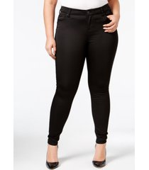 celebrity pink trendy plus size the high rise lifter skinny jeans