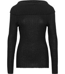 lee gebreide trui zwart dagmar