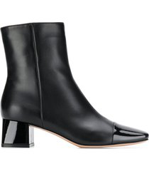 gianvito rossi toe cap ankle boots - black