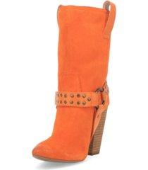 women's dancin queen leather bootie women's shoes