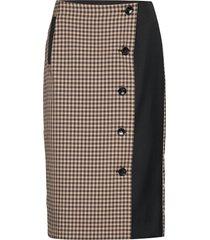 silje knälång kjol brun baum und pferdgarten
