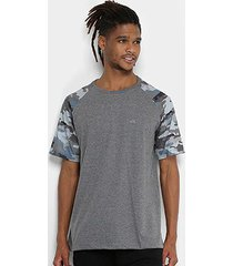camiseta wg especial raglan camo masculina