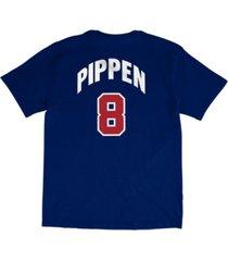 mitchell & ness men's scottie pippen team usa player t-shirt