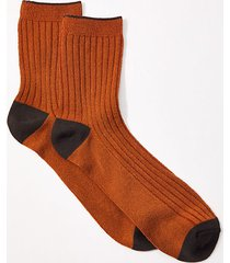 loft lou & grey colorblock ribbed socks