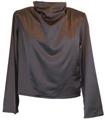mona silky blouse