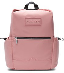 refined sustainable top clip backpack